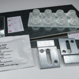 Pacco per Fissaggio adesivo + Supporti da parete