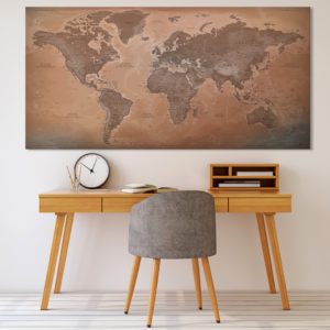 Bella Mappa del Mondo – Luxor