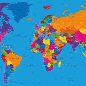 Mappa del Mondo Classica – Danakil