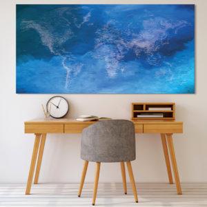 Mappa del Mondo Decorativa – Heracleion