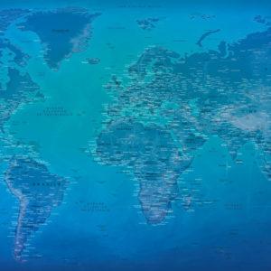Mappa del Mondo Formato Grande – Moraine