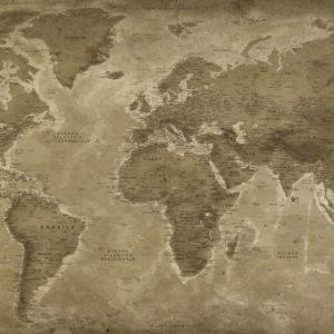 Mappa del Mondo Vintage – Lascaux