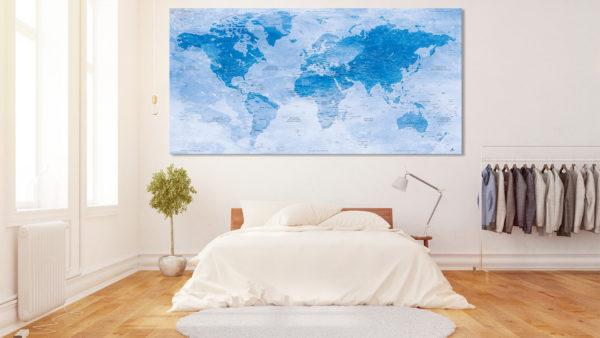 Mappa-del-Mondo-effetto-Acquarello