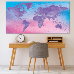 Mappamondo Decorativa – Fuji