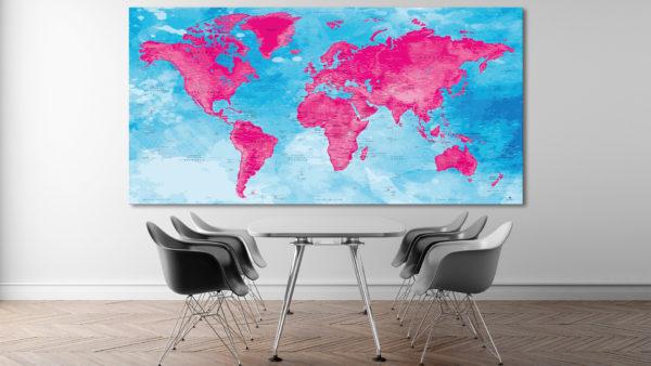 Poster-Mappa-del-Mondo