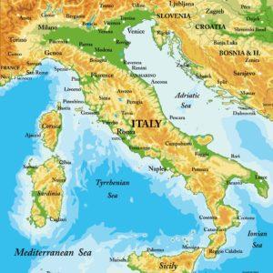 Mappa d'Italia Dettagliata